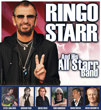 Todd Rundgren with Ringo's All Starr Band Tour 2015